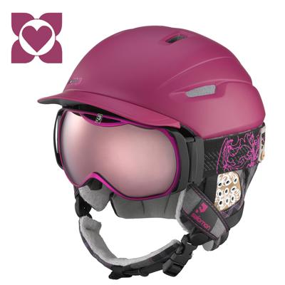 Salomon Poison CA Helmet & X-Cess 10 Goggles