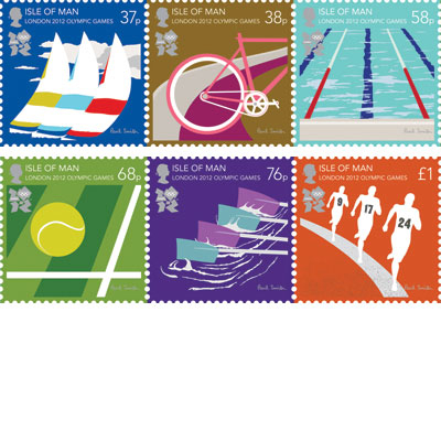 Paul Smith London 2012 Stamps
