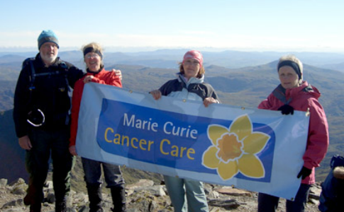 Snowdon Mountain Challenge - Marie Curie Cancer Care