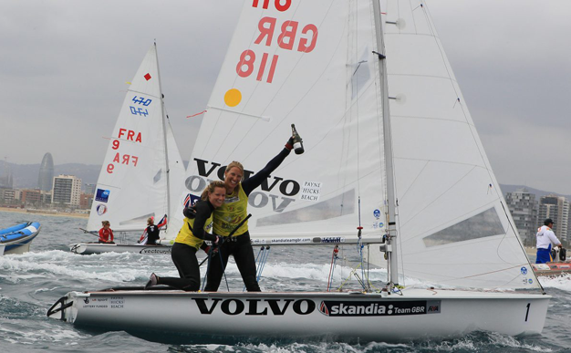 Sailing: Mills and Clark make history with first 470 Worlds win