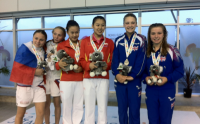 Diving: Hannah Starling and Alicia Blagg secure synchro silver