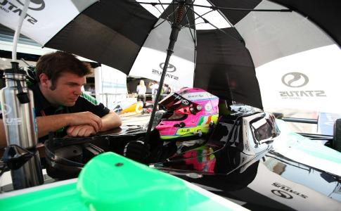 Motor racing: Powell makes history at GP3 season finale