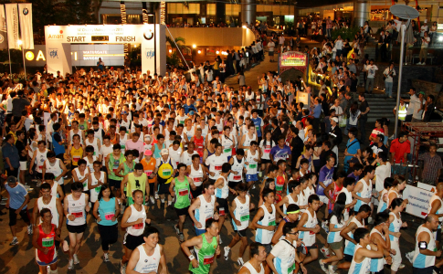 Amari Watergate & BMW Thailand Charity Midnight Run 2012