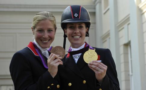 Laura Bechtolscheimer and Charlotte Dujardin
