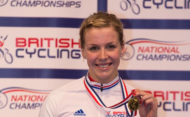 Cycling: Becky James dominates at National Track Championships