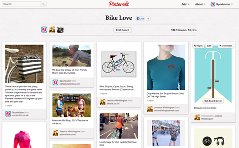 Bike Love on Pinterest