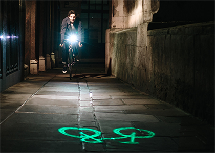 Blaze Bike Lights Genius Innovations By Designer Emily