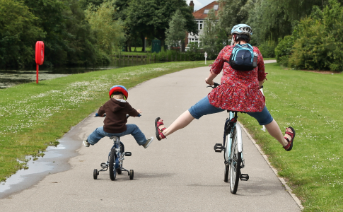 Cycling Breeze In The Park Celebrates Success Of Womens