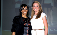 Dame Kelly Holmes with Non Stanford OCWK Athlete of Year2