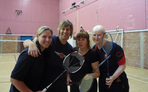 Ellie-and-sarah-badminton