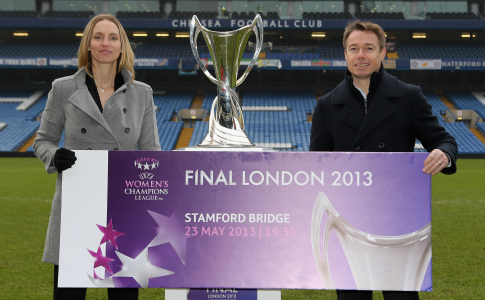 Football: 2013 UEFA Women's Champions League final tickets go on sale today