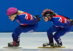 Speed skating: British team competes at European Championships