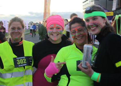 Glow in the Park 5km run