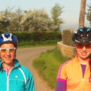 Heather Fell tests Njinga cycle training weekend