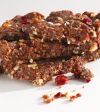 High-protein-cranberry-bars