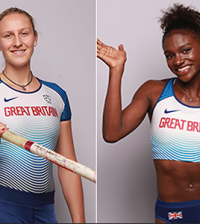 Holly Bradshaw - Dina Asher Smith