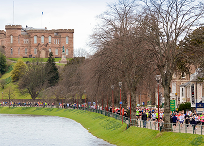 Inverness 1/2 Marathon and fun run