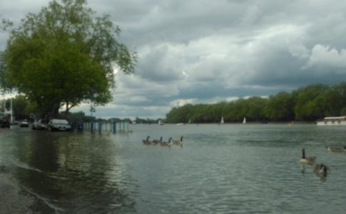 Ironman blog: Flooding, fast, fun...