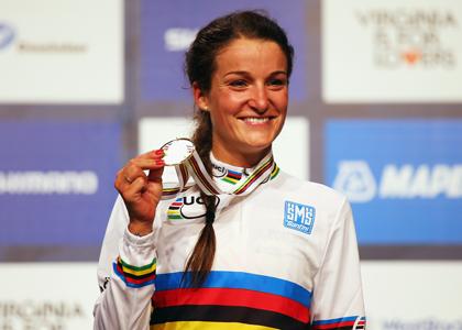 LIZZIE-A-podium