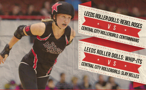 Leeds Roller Dolls vs. Central City Roller Girls - double header