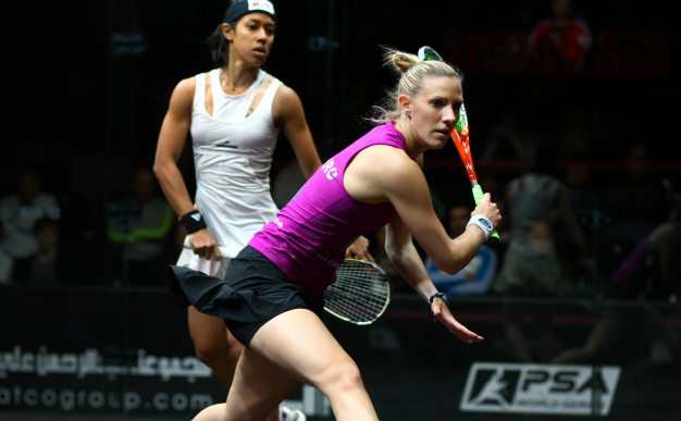 Sportsiser catches up with squash star Laura Massaro