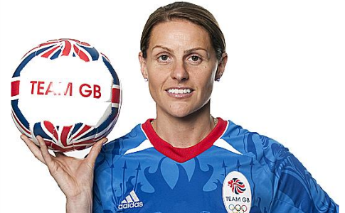 London 2012: Kelly Smith looking forward to lasting legacy