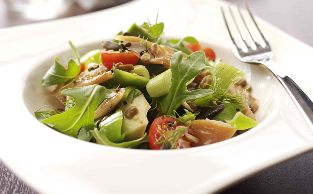 Recipe: Mackerel and leek salad