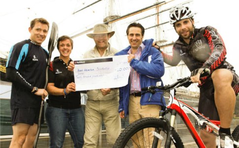Funding: Sports stars launch £20,000 Adventure Scholarship