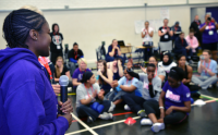 Nicola Adams helps Us Girls rock London