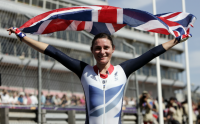 Paralympics: Storey storms to third cycling gold