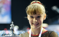 Gymnastics: Rebecca Tunney crowned British champion