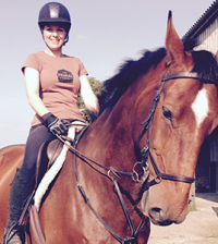Sarah-on-horse
