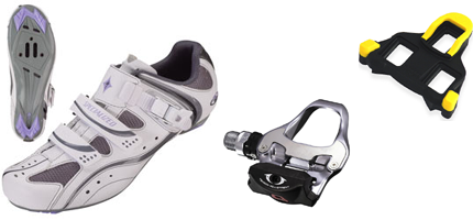 Shoes-and-pedals