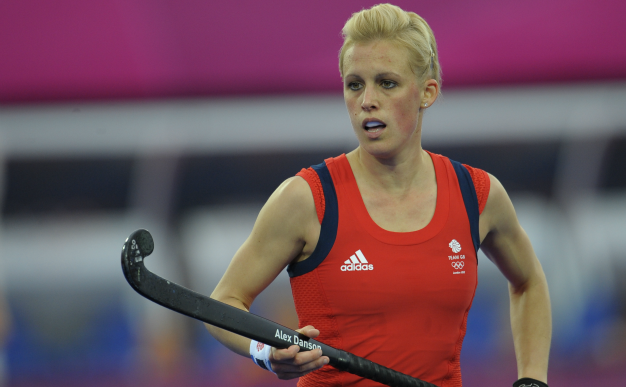 Alex Danson hockey