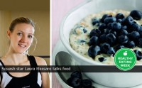 Squash star Laura Massaro talks food