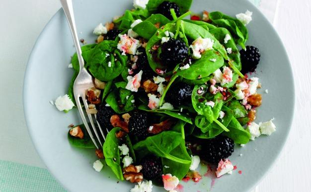 Recipe: Superfast superfood salad with raspberry vinegar
