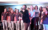 Video: Team GB and the Games Maker Choir