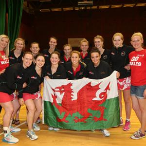 Wales-Netball