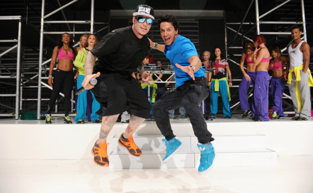 Video: What do you get if you cross Zumba and Vanilla Ice?