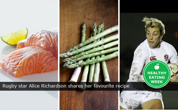 Rugby star Alice Richardson shares her favourite recipe