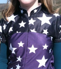 Tried and tested: AnaNichoola Black Star Jersey