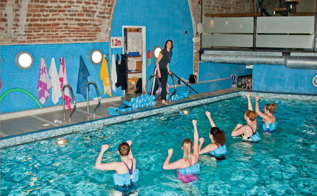 Sportsister tests Aqua Fitness with Karen Pickering MBE
