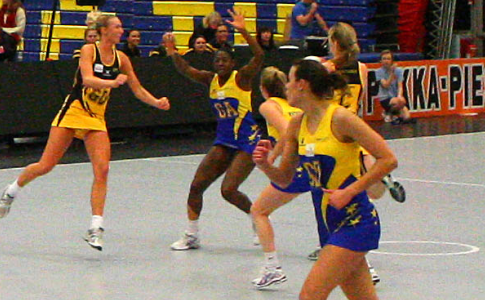 Team Bath in action against Northern Thunder