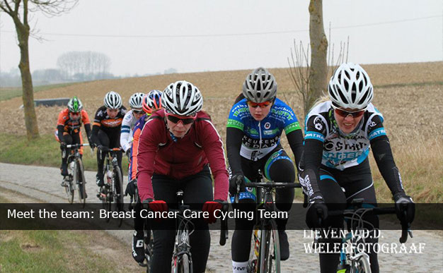 Meet the team: Breast Cancer Care Cycling Team