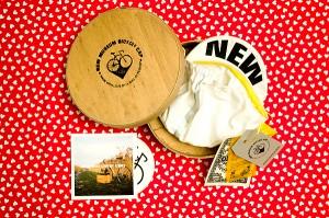 New Museum Cap & cheese box
