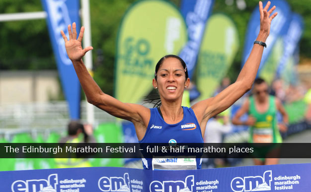 The Edinburgh Marathon Festival - full & half marathon places