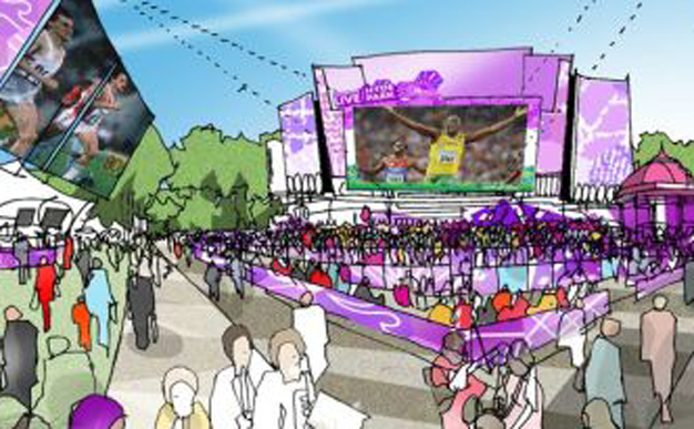 London 2012: London Live announces locations to celebrate the excitement of 2012 Games