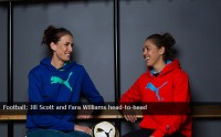 Football: Jill Scott and Fara Williams head-to-head