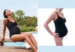 Tried and tested: JoJo Maman Bebe maternity swimsuit