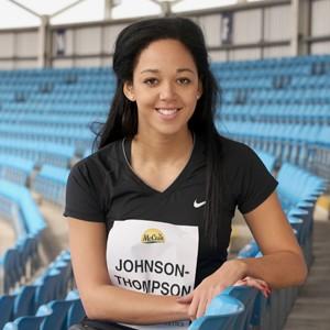 5 minutes with Katarina Johnson-Thompson